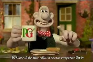 PG Tips - Wallace and Gromit